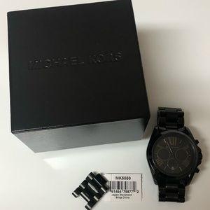 Michael Kors Black Matte Watch